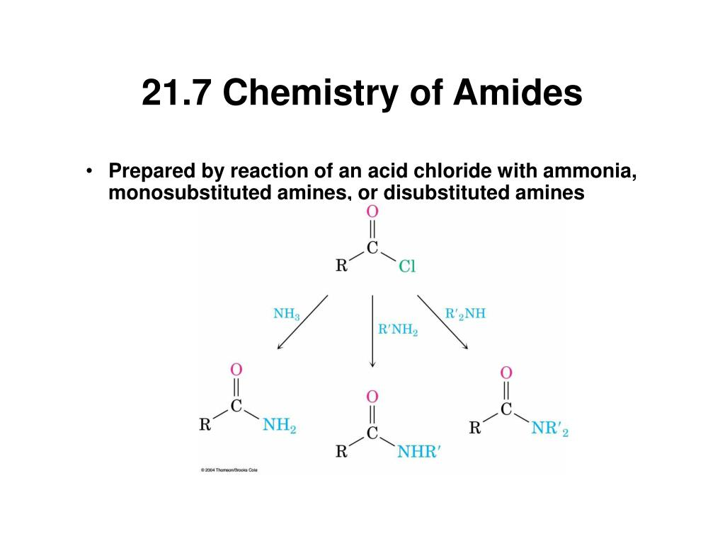 21.7 Chemistry of Amides