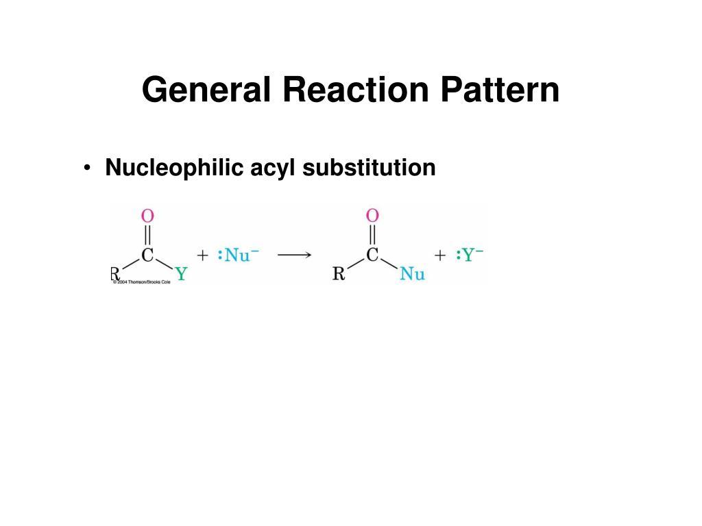 General Reaction Pattern