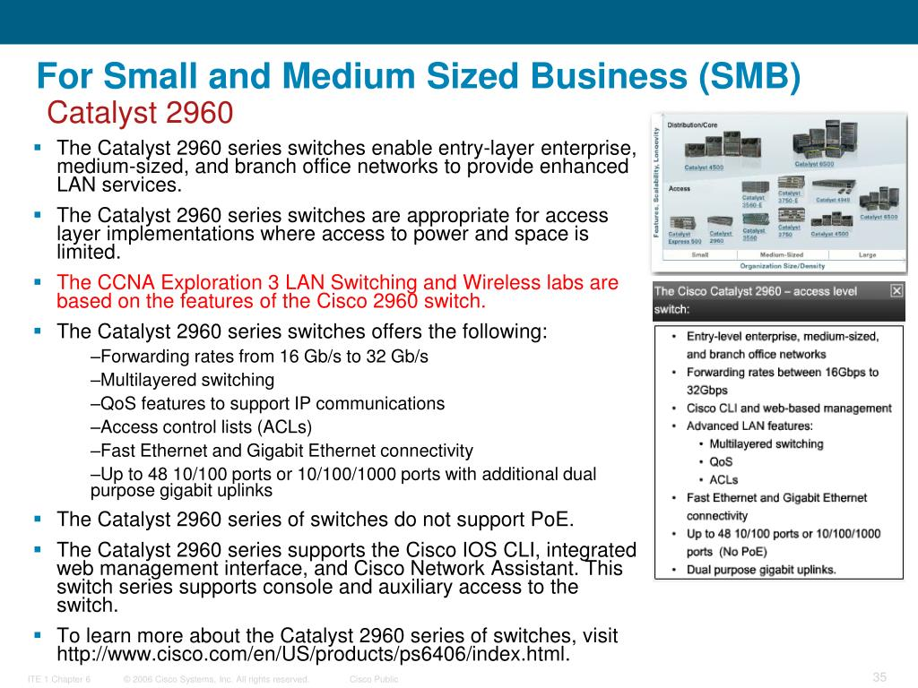 For Small and Medium Sized Business (SMB)