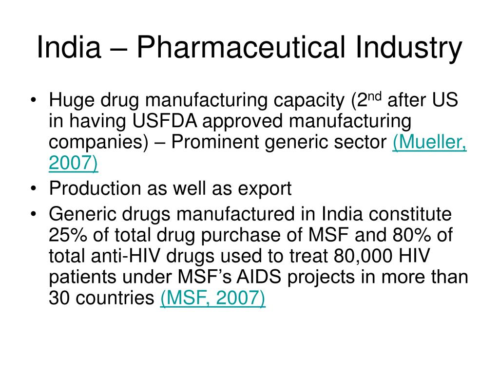 India – Pharmaceutical Industry