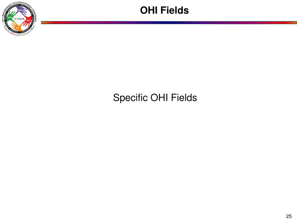 OHI Fields