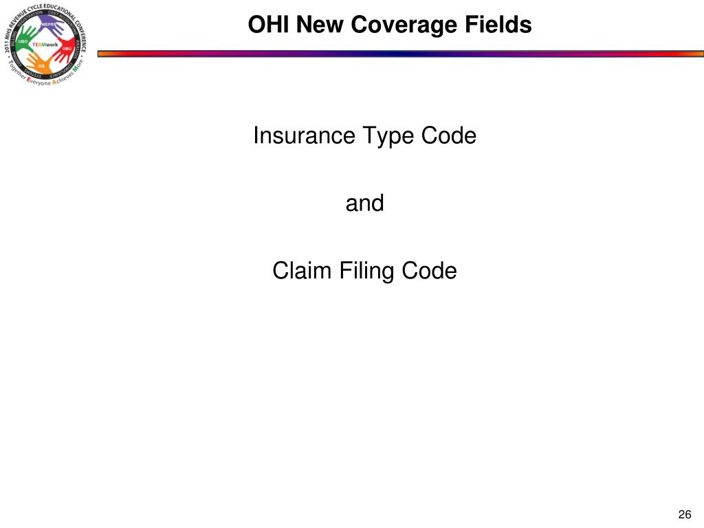 OHI New Coverage Fields