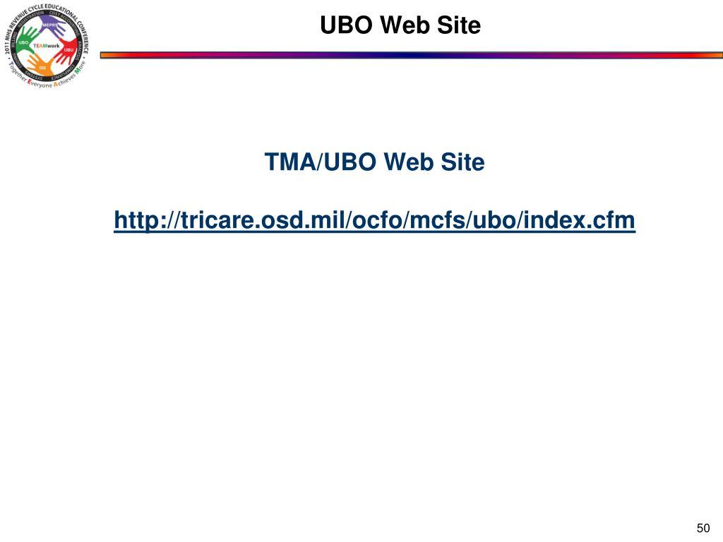 UBO Web Site