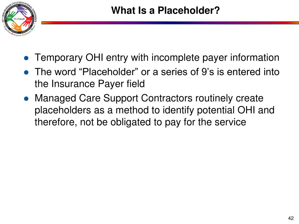 What Is a Placeholder?