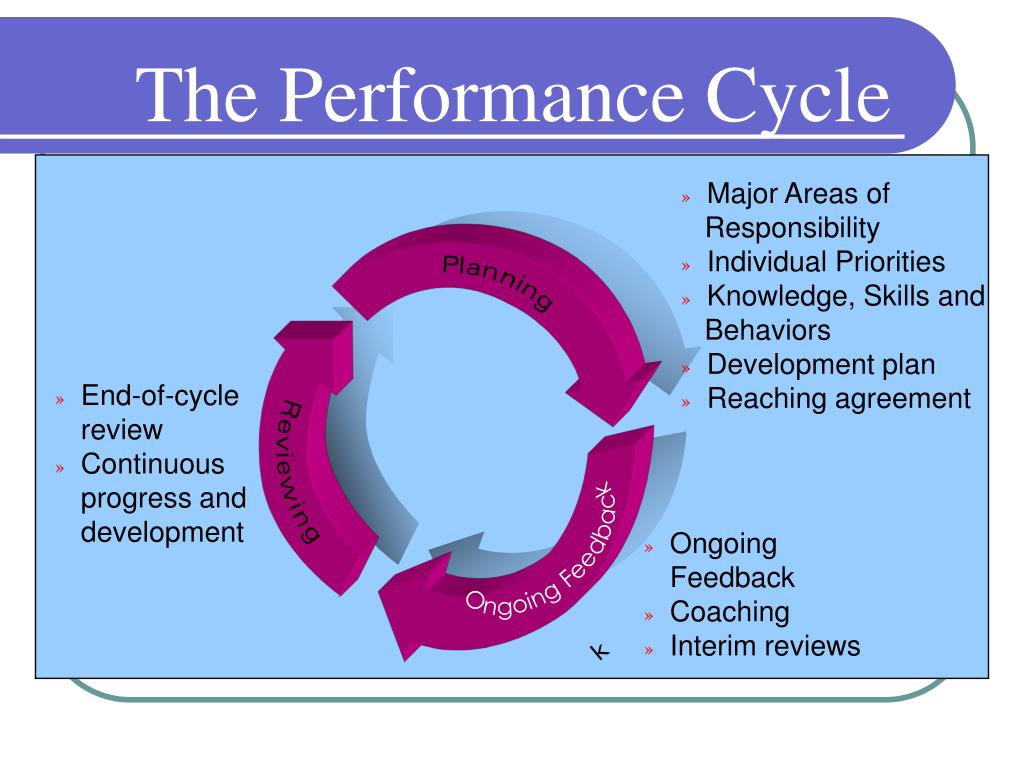 The Performance Cycle