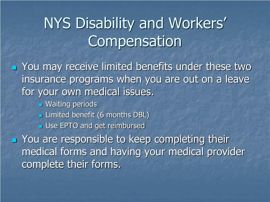 NYS Disability and Workers' Compensation