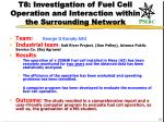 t8 investigation of fuel cell operation and interaction within the surrounding network