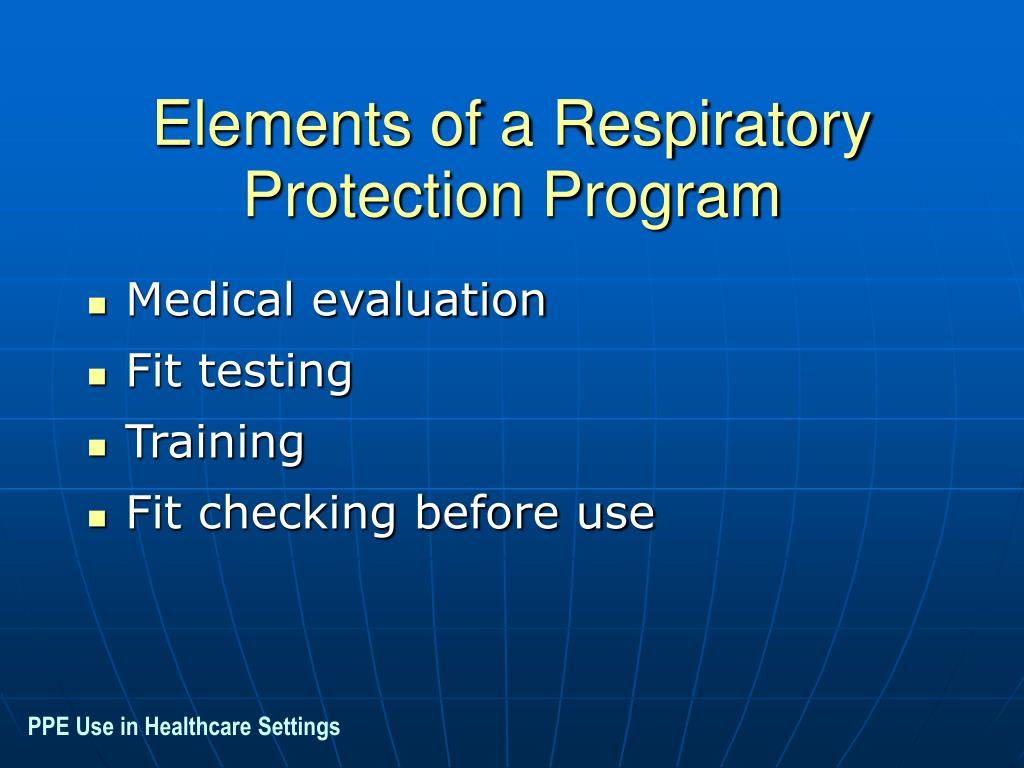 Elements of a Respiratory