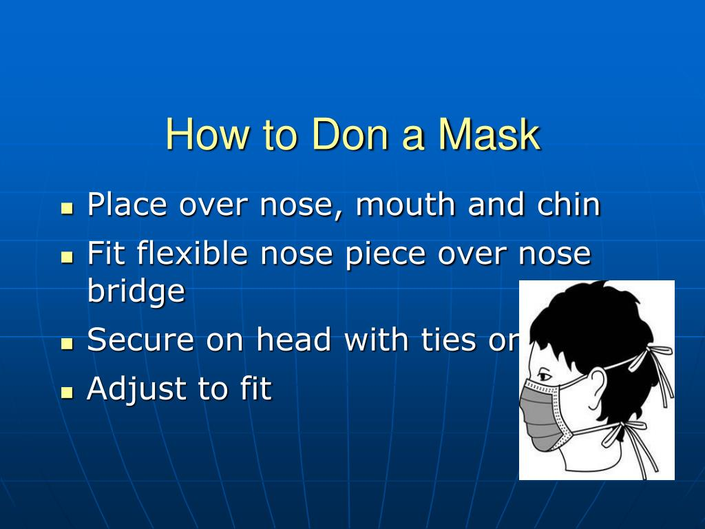 How to Don a Mask