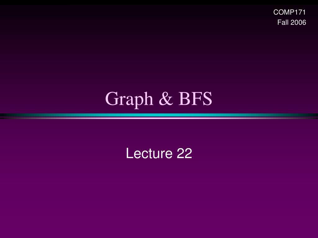graph bfs l.