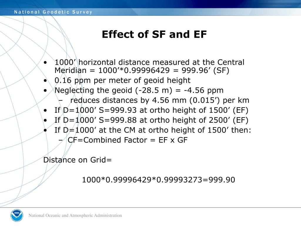 Effect of SF and EF