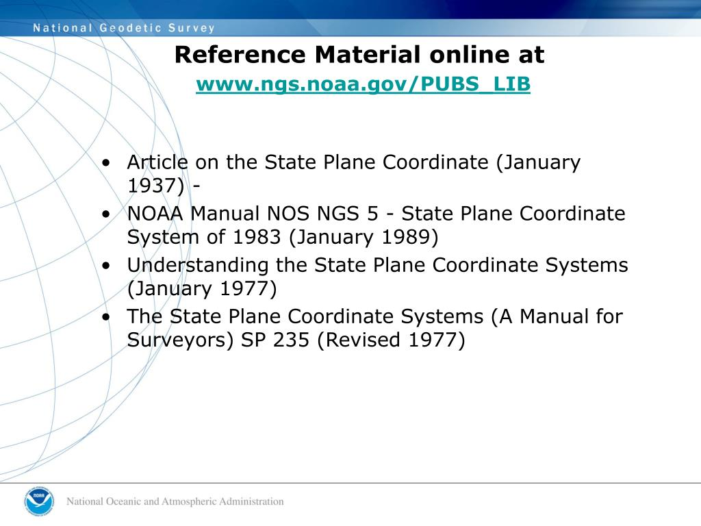 Reference Material online at