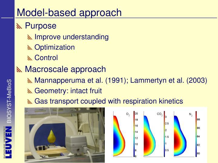 Model based approach