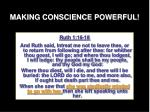 making conscience powerful20
