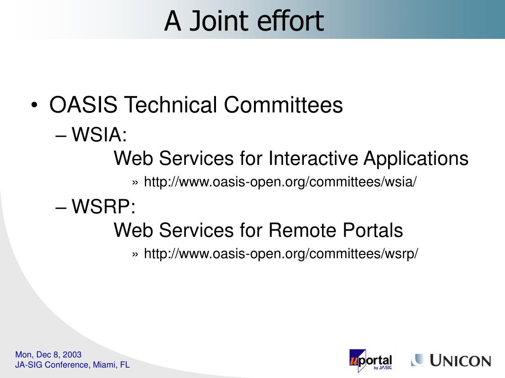 OASIS Technical Committees