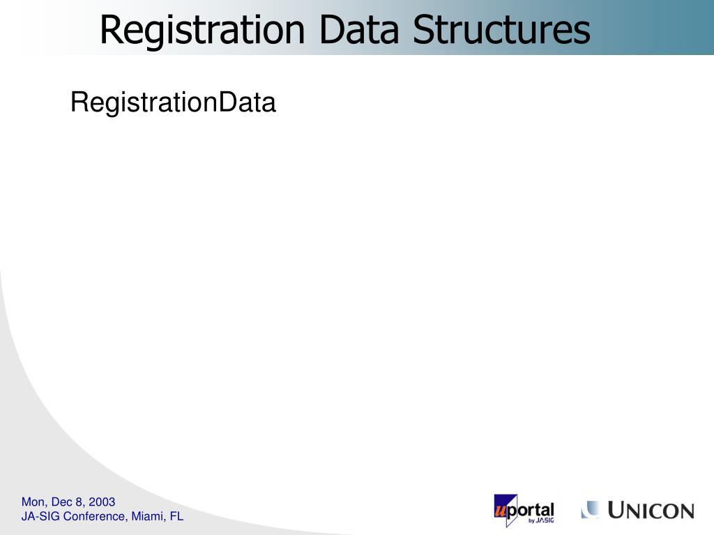 RegistrationData