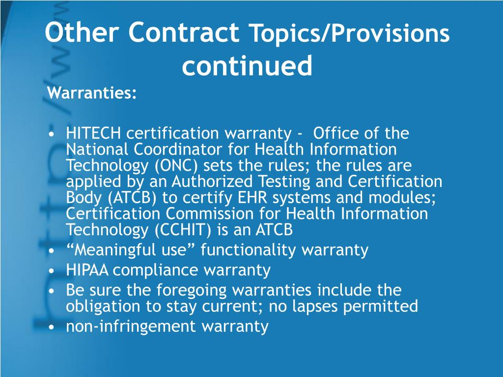 Other Contract