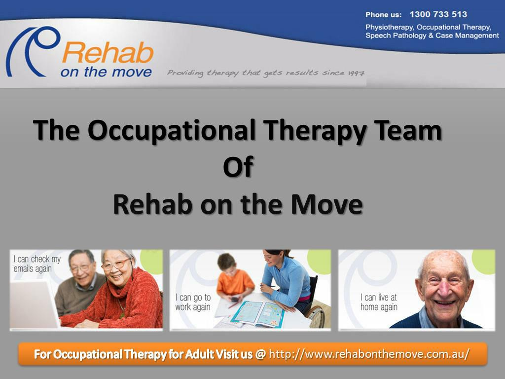 The Occupational Therapy Team Of