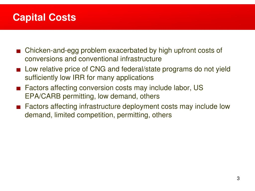 Capital Costs