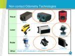 non contact odometry technologies