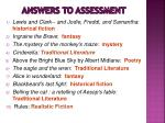 answers to assessment