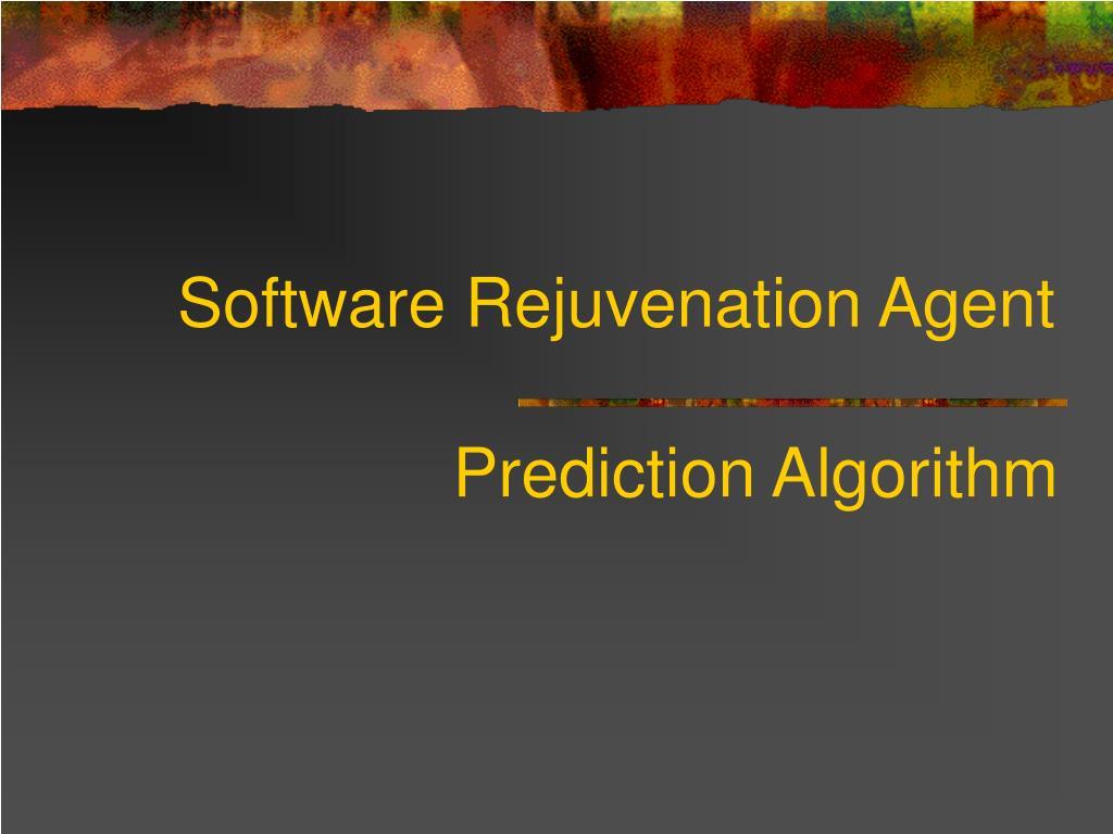 Software Rejuvenation Agent