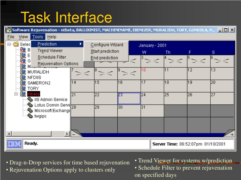 Task Interface