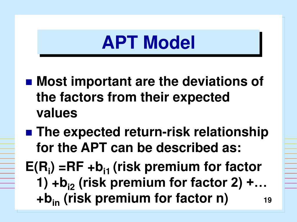 APT Model