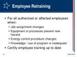 employee retraining
