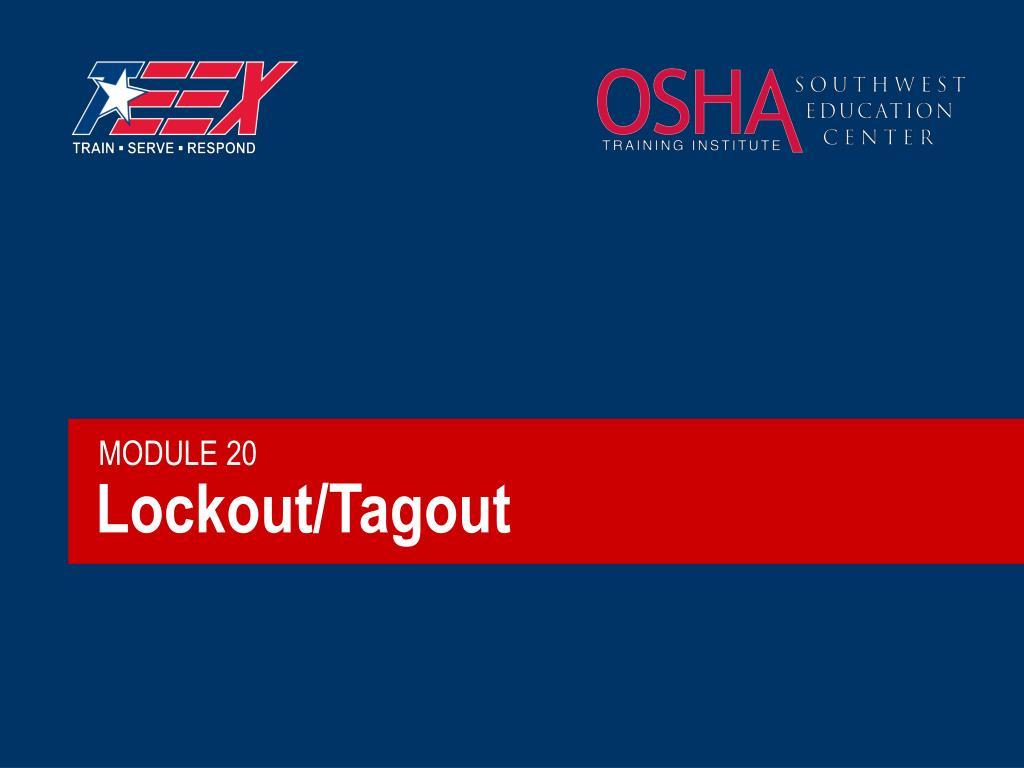 lockout tagout