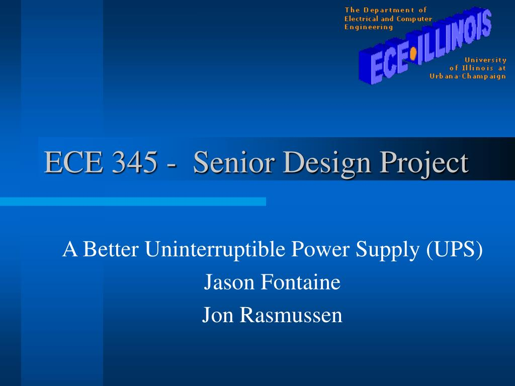 ece 345 senior design project l.