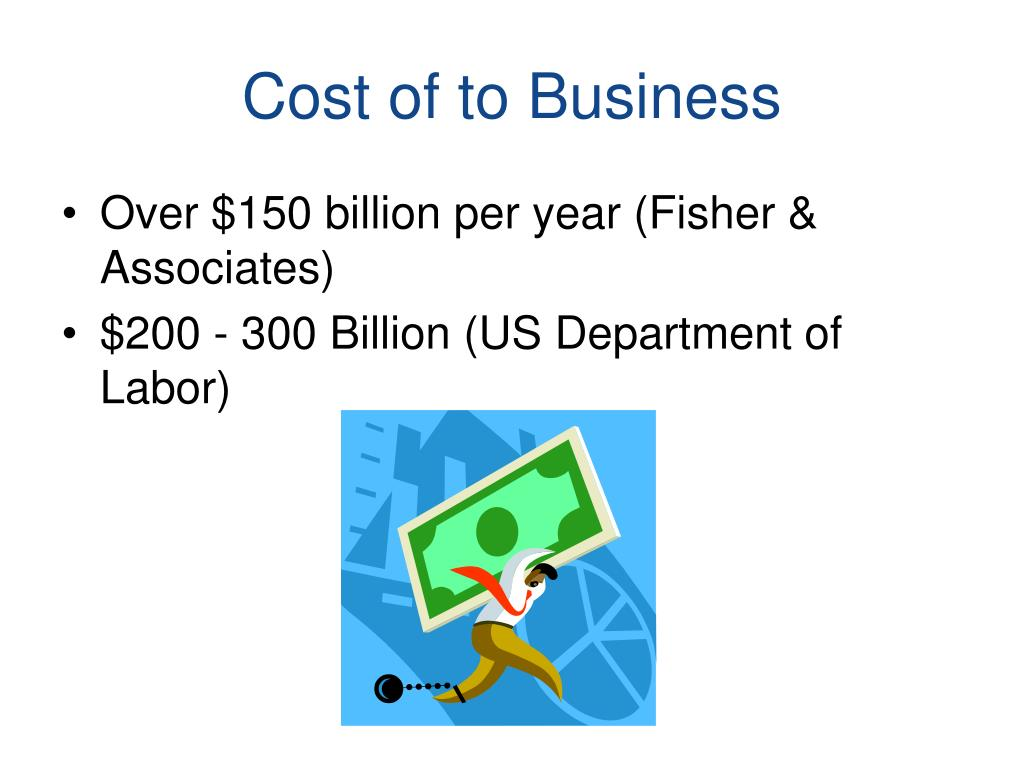 Cost of to Business