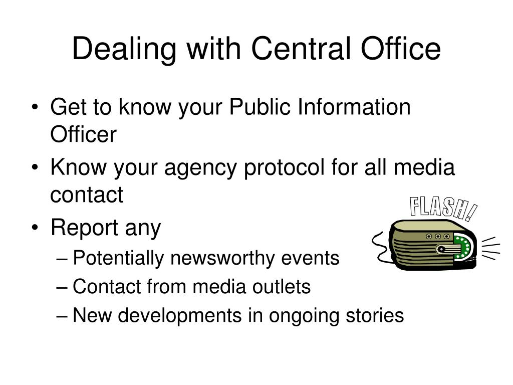 Dealing with Central Office