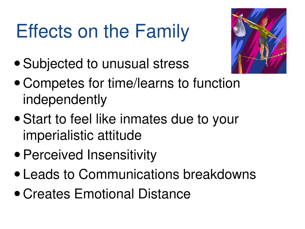 Effects on the Family