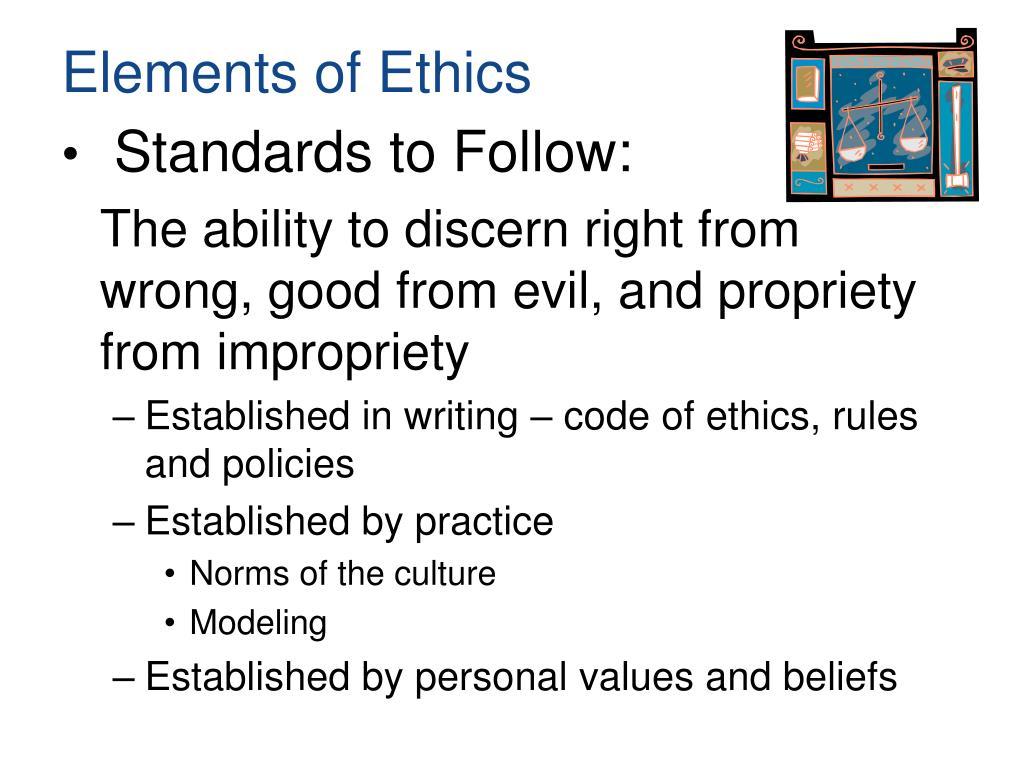 Elements of Ethics