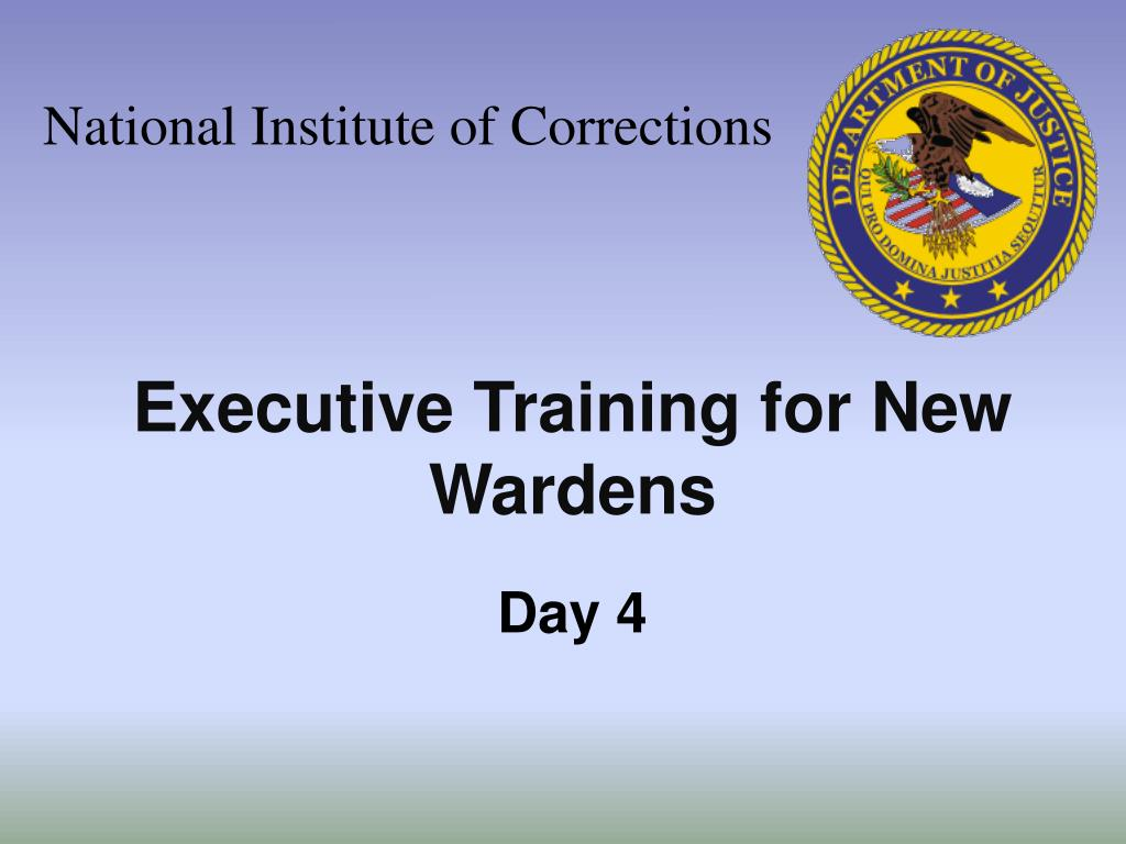National Institute of Corrections