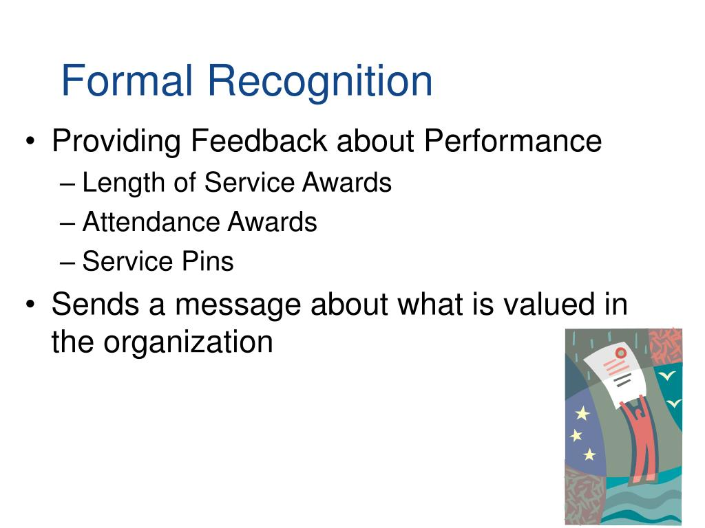 Formal Recognition