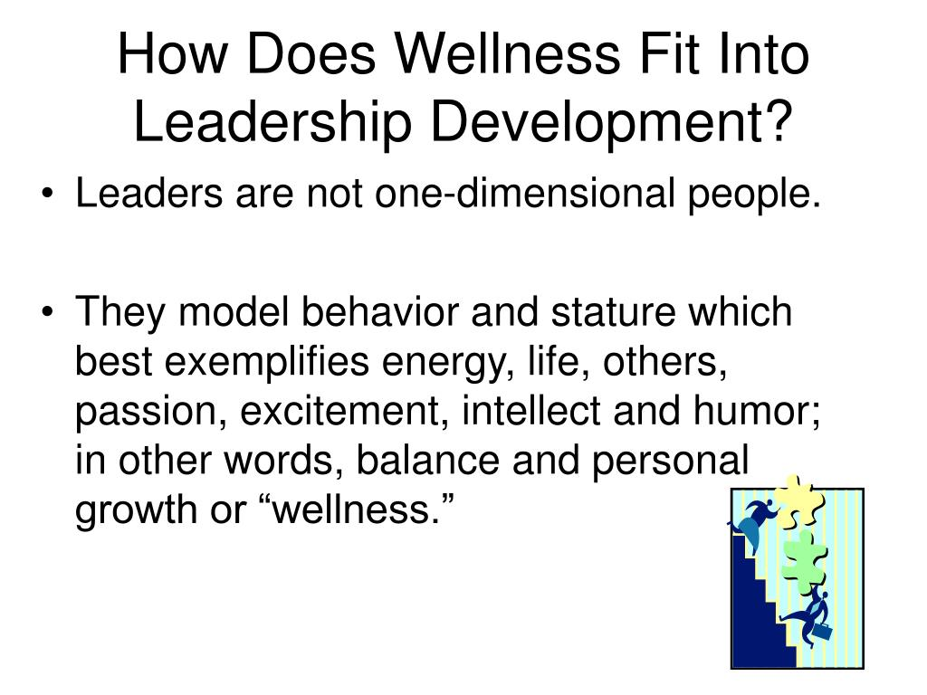 How Does Wellness Fit Into Leadership Development?