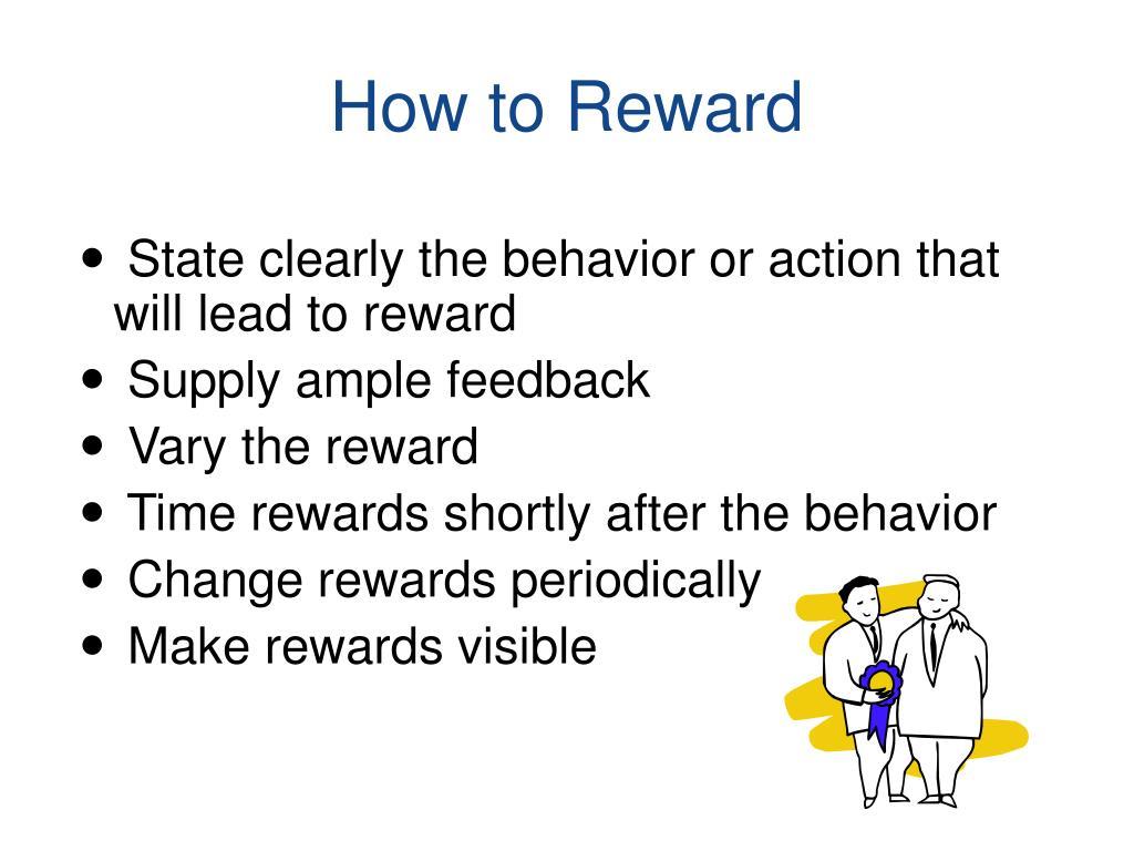 How to Reward
