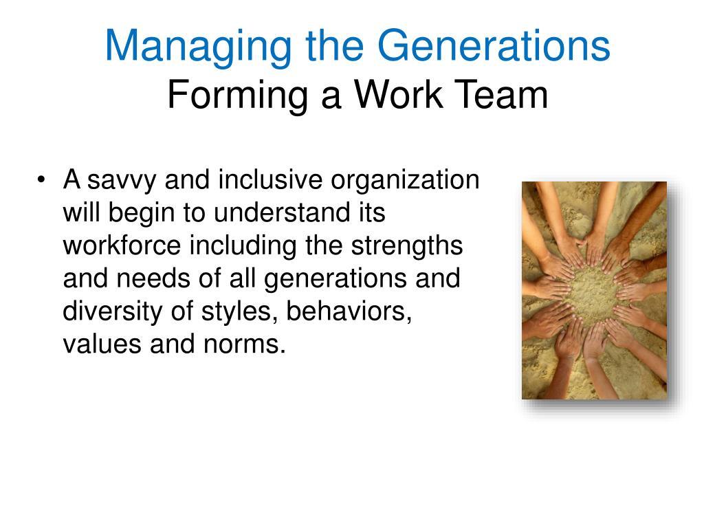 Managing the Generations