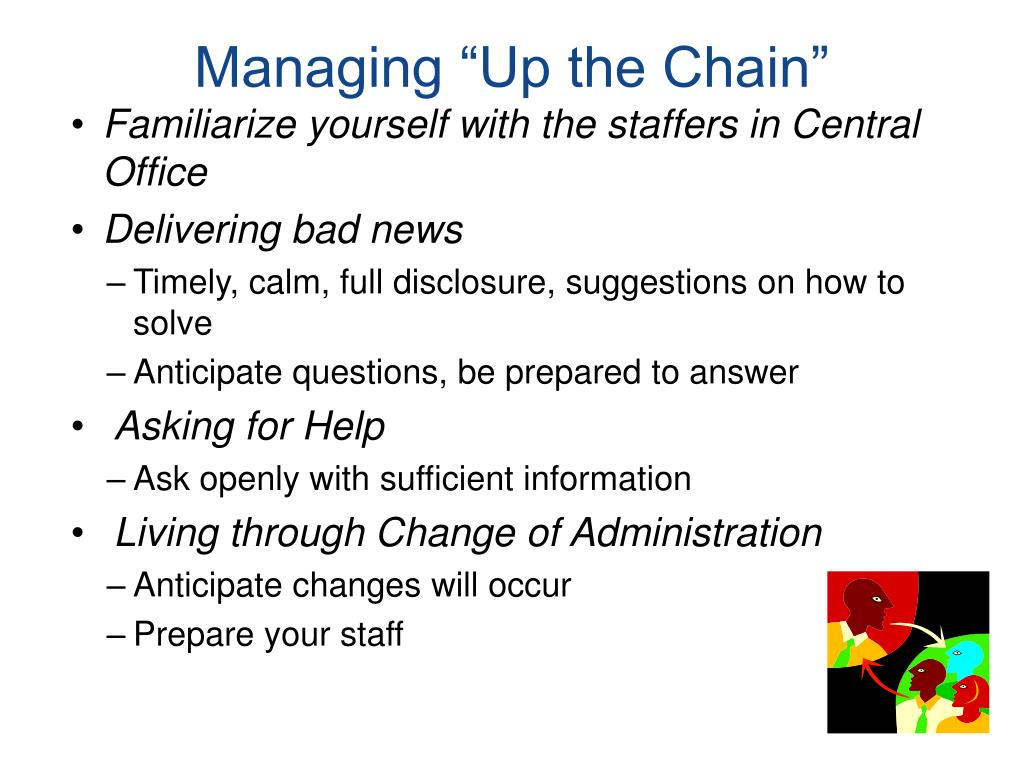 """Managing """"Up the Chain"""""""