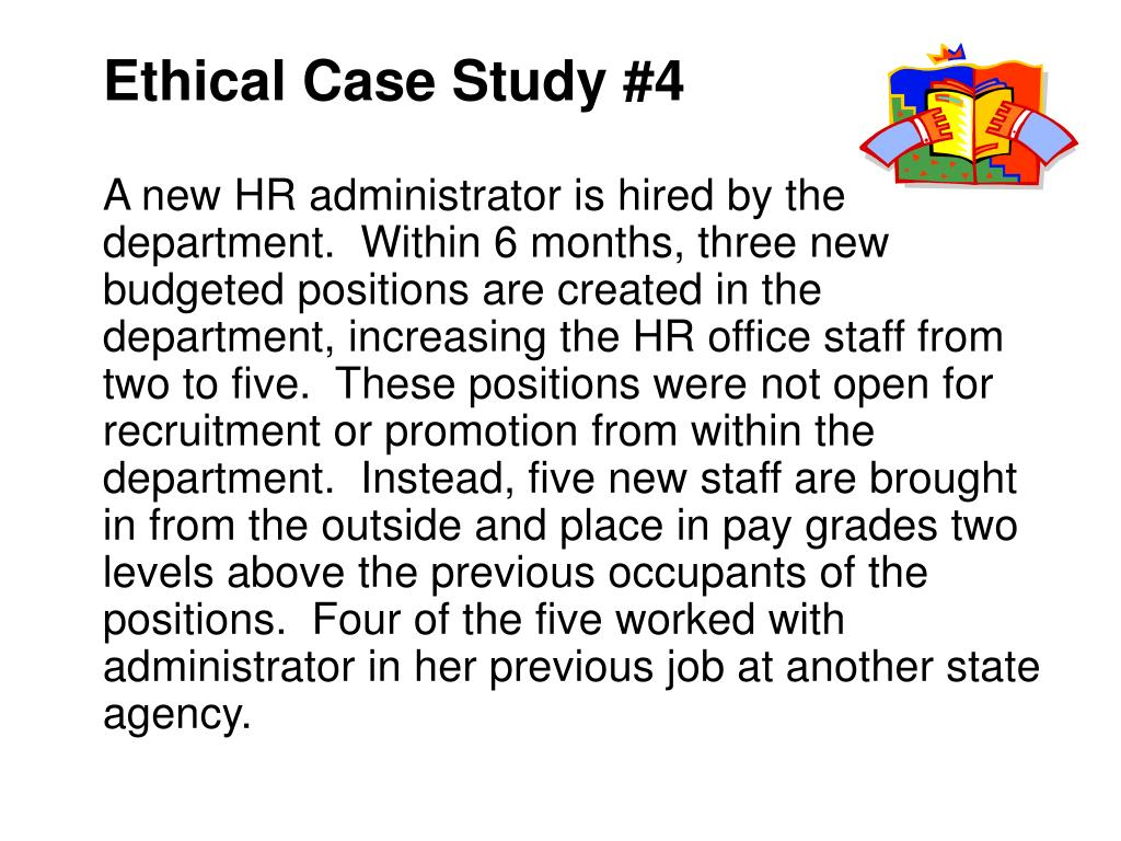 Ethical Case Study #4