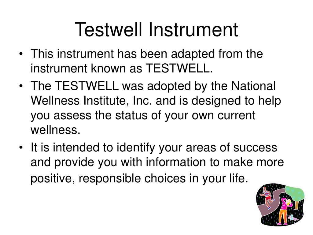 Testwell Instrument