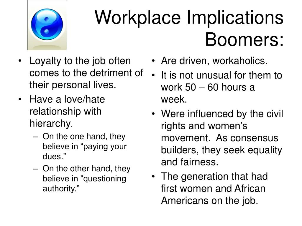 Workplace Implications
