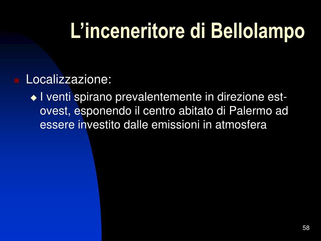 L'inceneritore di Bellolampo