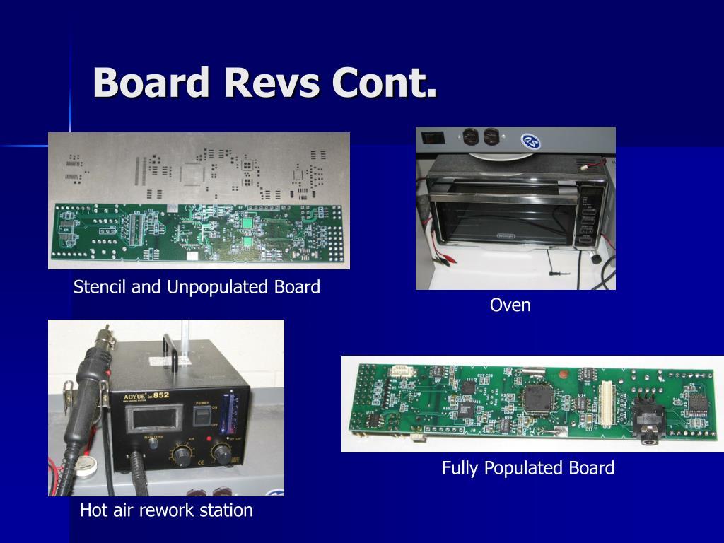 Board Revs Cont.