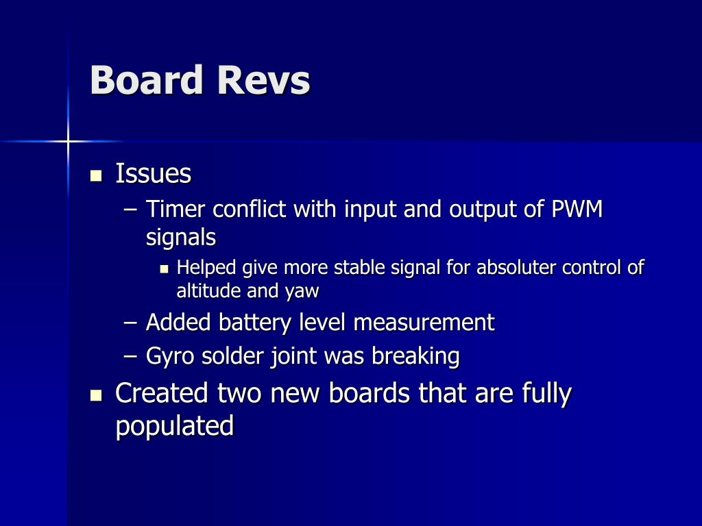 Board Revs