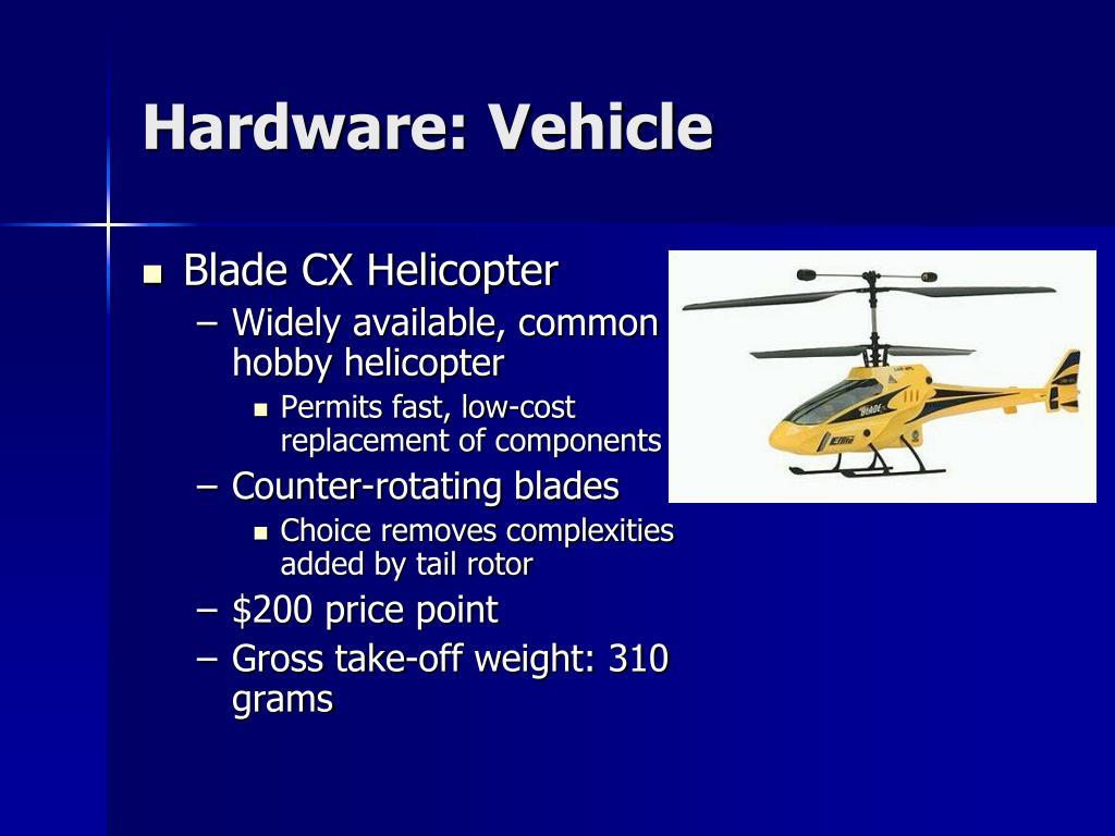 Hardware: Vehicle