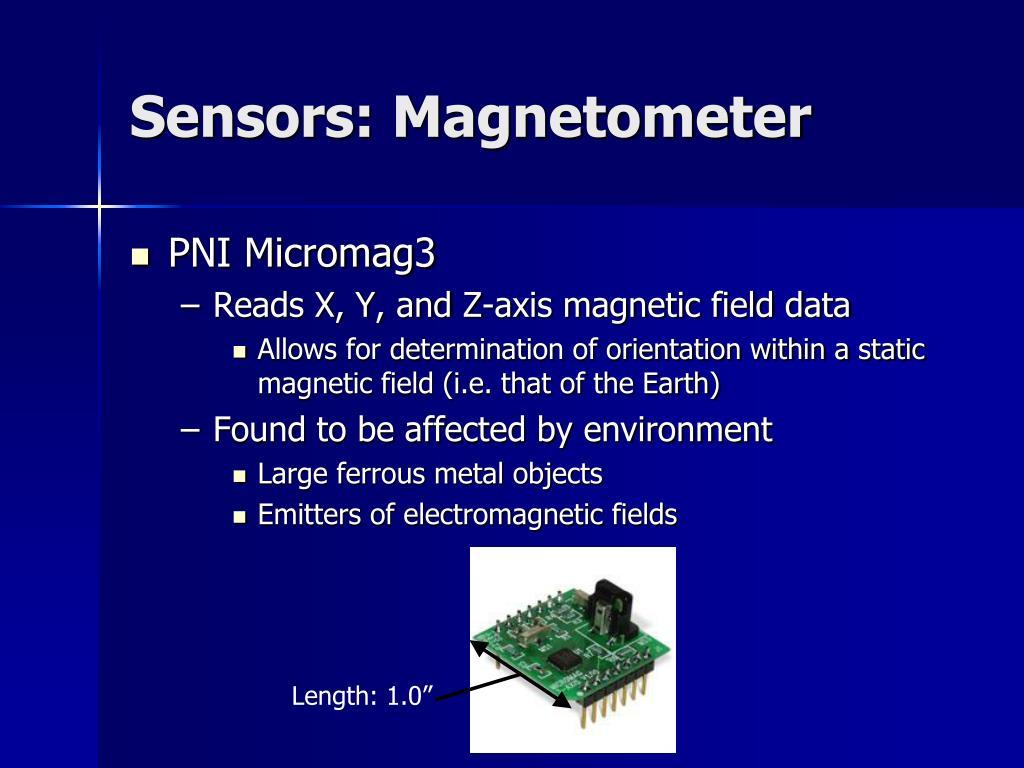Sensors: Magnetometer