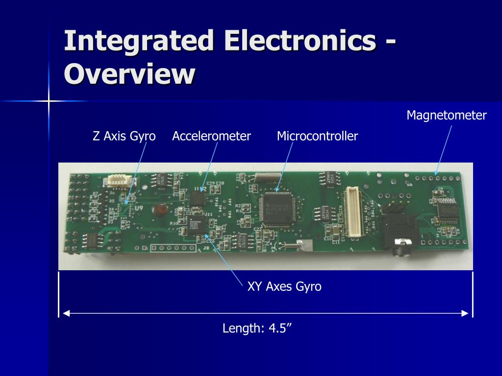 Integrated Electronics - Overview